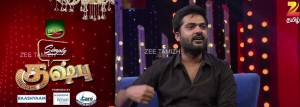 Watch Zee Tamizh Simply Kushboo STR Little Super Star Simbu October 03, 2015