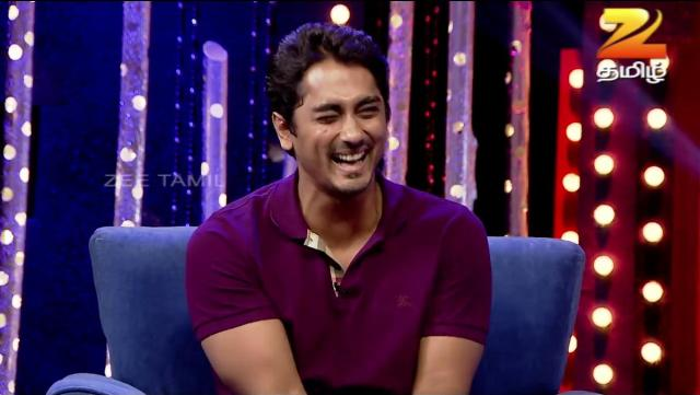 Zee Tamil Simply Kushboo Actor Siddharth 07-11-2015