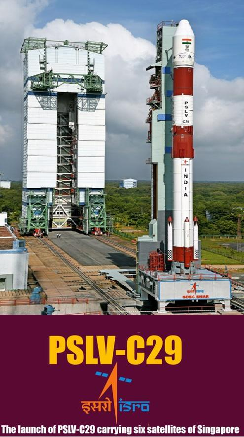 DD National Live Telecast PSLV-C29 Rocket Launch 16-12-2015