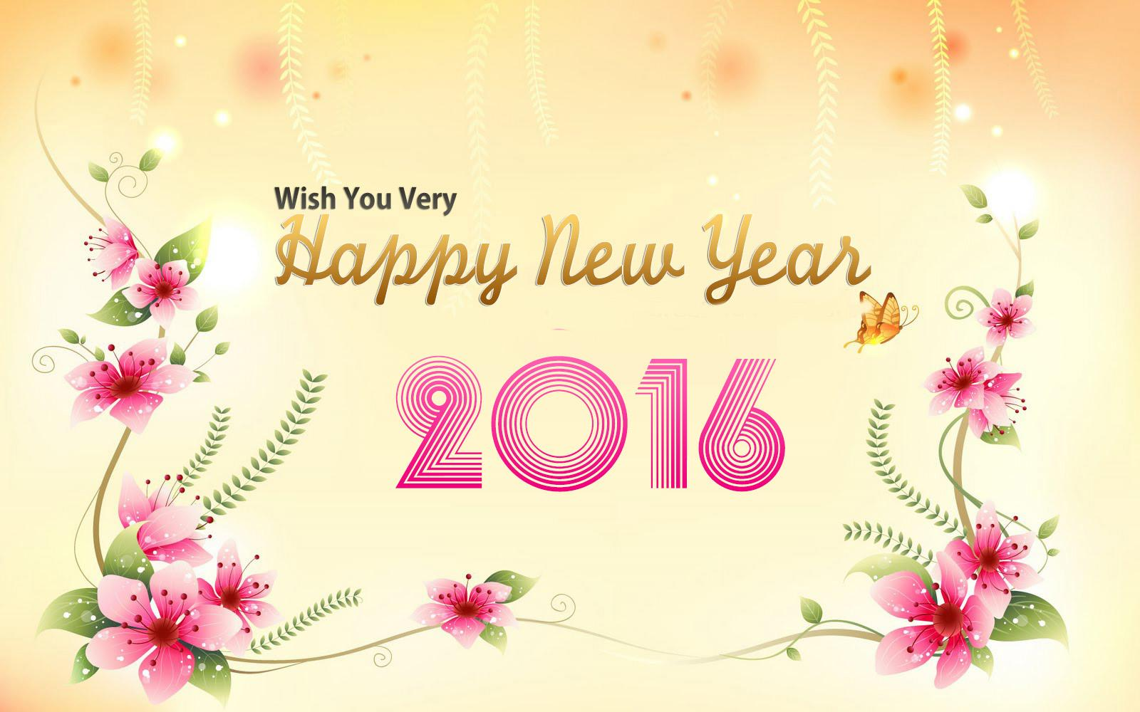 Happy New Year 2016 HD Wallpaper Images Free Download - SU News