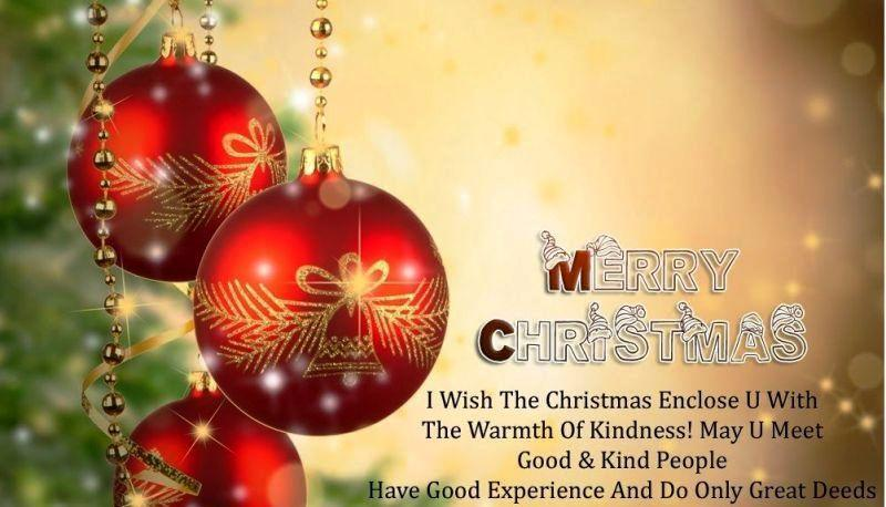Merry Christmas Greetings with quotes 2015