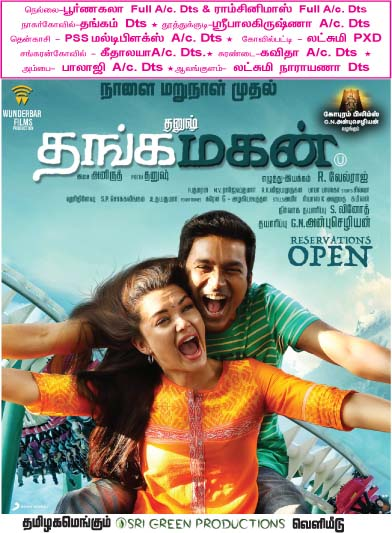 Thangamagan Tirunelveli Theatre List