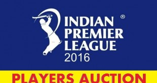 IPL 2016 Auction Live Sony Six, Starsports.com 6-2-2016 - Players List