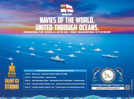International Fleet Review 2016 Visakhapatnam Live