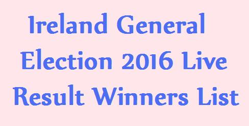 Irish General Elections 2016 Result Live Vote Counting Result 27-2-2016