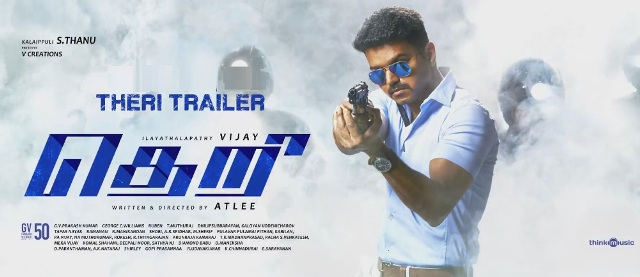 Theri Movie Official Trailer Download Youtube Video March 20, 2016