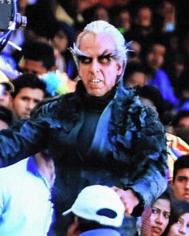 Enthiran 2 Akshay Kumar Look Getup as Dr. Richard Pictures