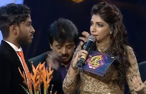 Super Singer 5 third place winner Rajaganapathy