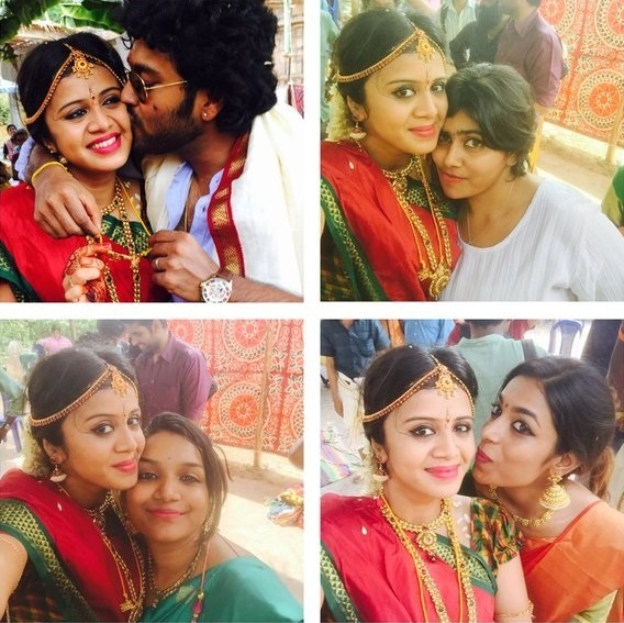 Tamil TV Anchor Anjana Wedding Gallery Stills Images