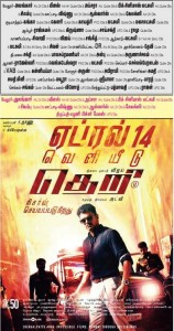 Theri Vellore Theatre List