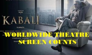 Kabali Movie Worldwide Theatre Screen Counts