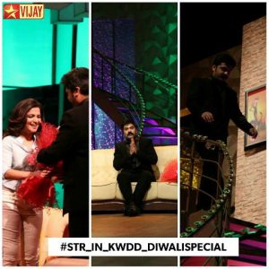 Vijay TV Koffee with DD Diwali Special 2016 Simbu Interview